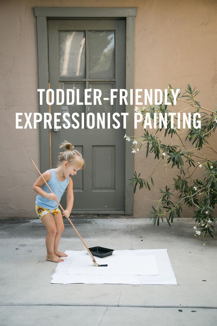 People often joke that they can't tell the difference between expressionist art and kids drawings. Well now your kids can become expressionist painters themselves. This kid-friendly painting activity is fun for your kids and for you.