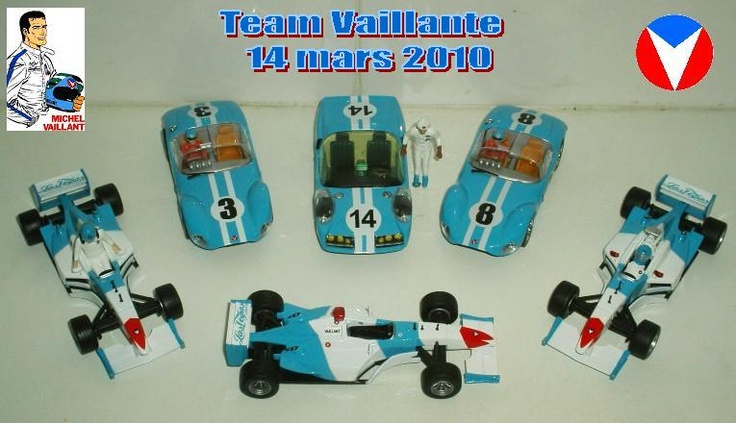 The team Vaillante (march 2010)