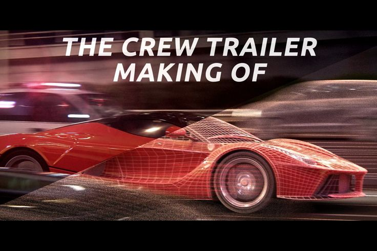 The Crew Cinematic breakdown by UNITY