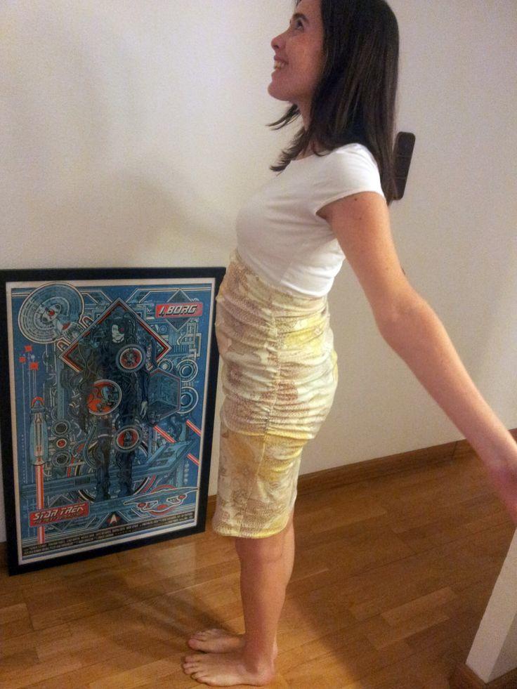 Erin maternity skirt // Pilar Bear