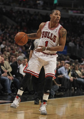 6. Derrick Rose---Chicago Bulls  Position: Point guard  Age: 23