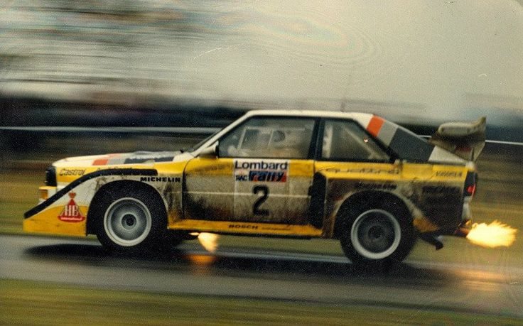 Group B Quattro - Changed the face of rally forever...  Still remember watching these live in Portugal when I was a kid
