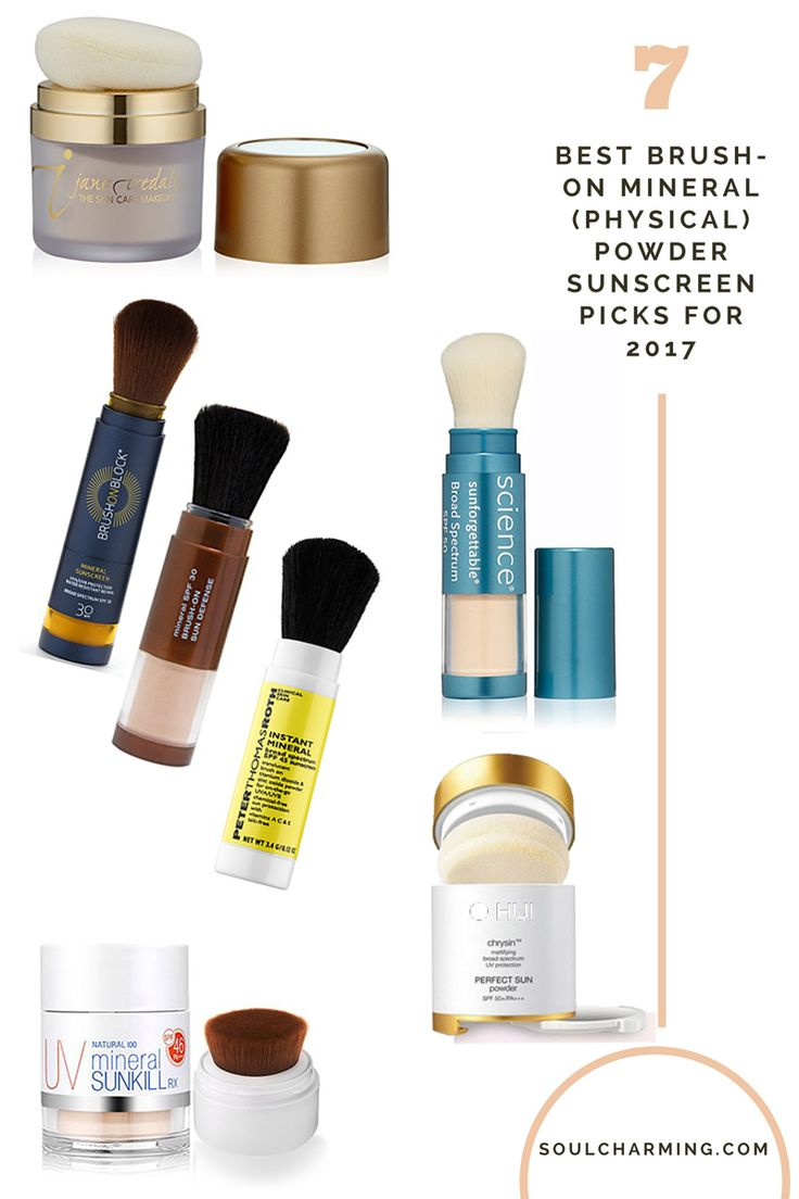 How To Reapply Sunscreen Over Makeup? Check our Best Brush-On Mineral (Physical) Powder Sunscreen Picks For 2017 on https://soulcharming.com