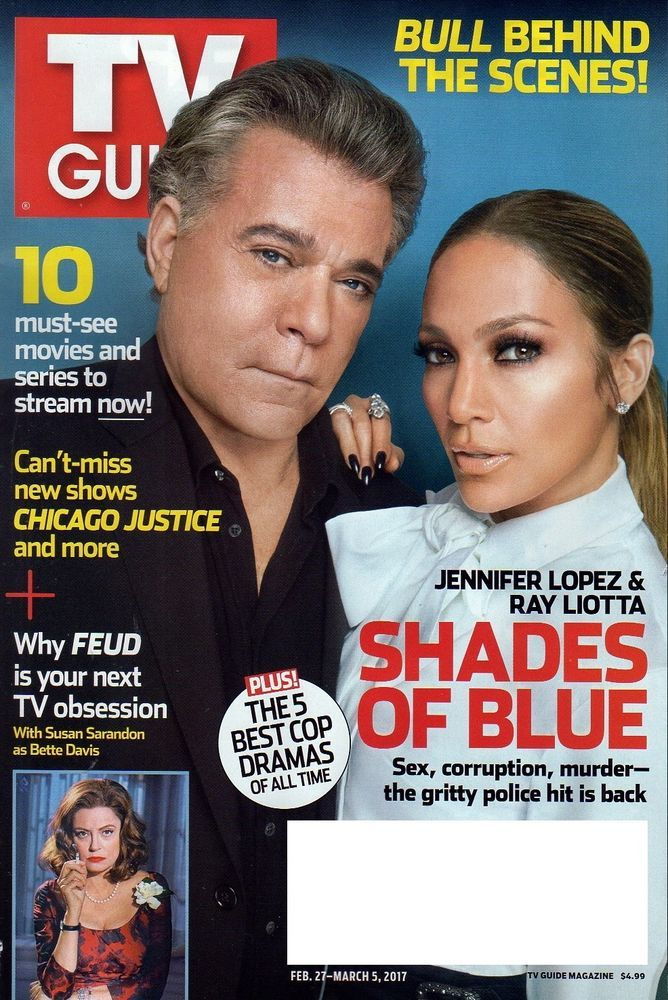 TV GUIDE MAGAZINE FEBRUARY 27 MARCH 5 2017 FEUD SHADES OF BLUE CHICAGO JUSTICE X