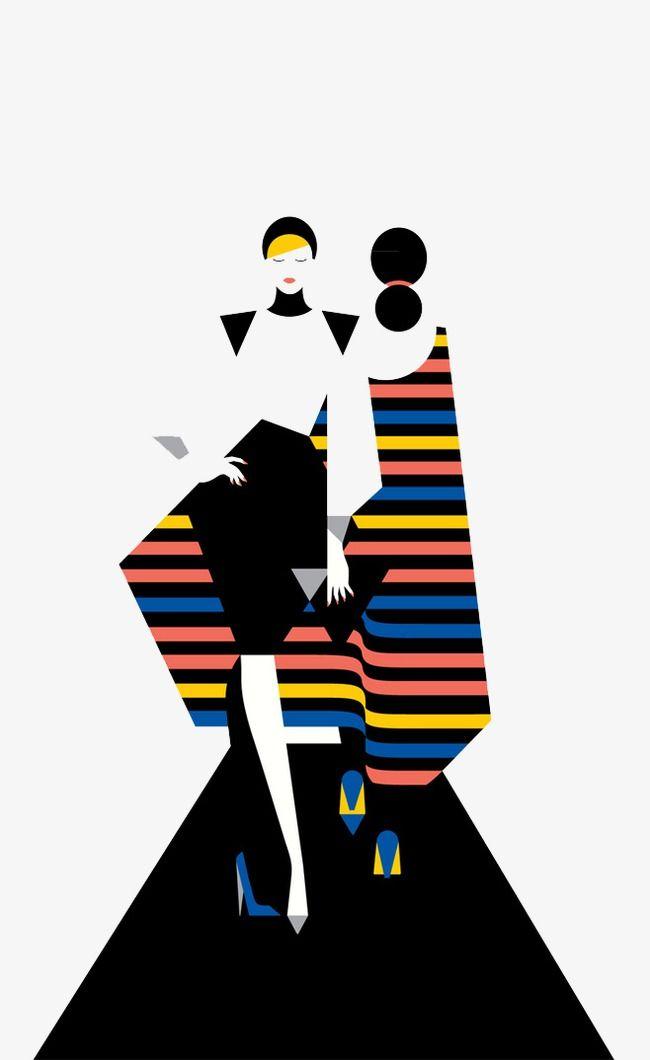 Fashion Show Fashion Clipart T Station Cartoon Model