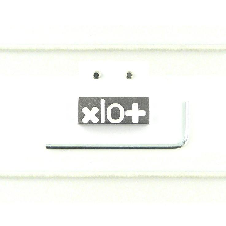 Mattoncino #xlo+ brillantato bianco $33.45