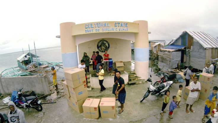 Donation of 120 LifeStraw Community filters arrive to the Philippines after Typhoon Haiyan
