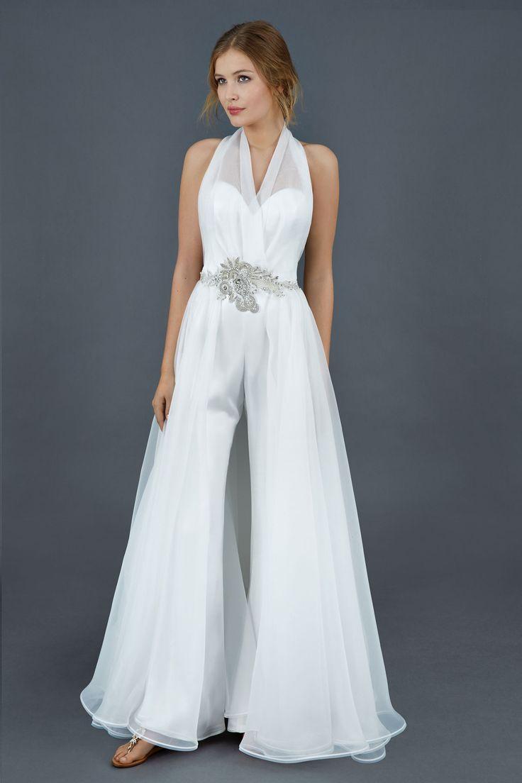 23 best Bridal Pant Suits images on Pinterest  Wedding