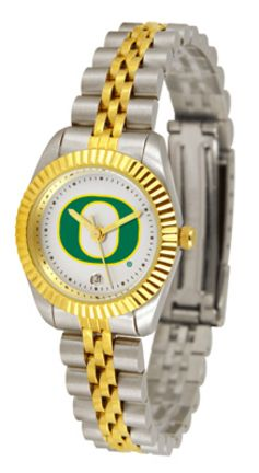 Oregon Ducks Executive Ladies Watch: The ultimate NCAA Oregon Ducks fan's statement, our Executive… #Sport #Football #Rugby #IceHockey
