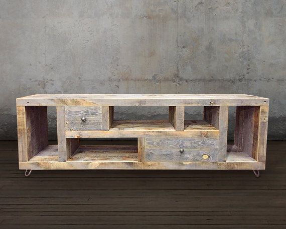 Reclaimed TV Stand/Media Console/Wood Credenza