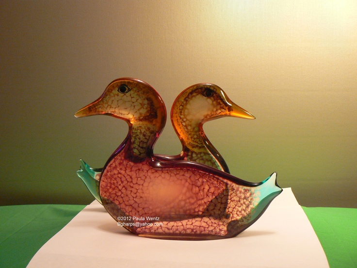 The two Crackle Ducks together.