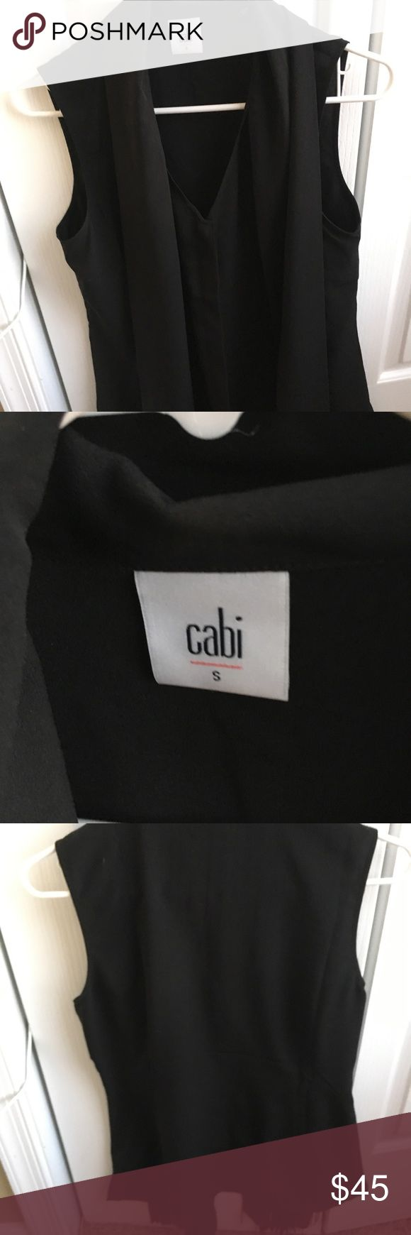 Cabi Fringe Blouse - 3430 Beautiful black Cabi Fringe Blouse in size small. Brand new. Never worn only tried on. CAbi Tops Blouses