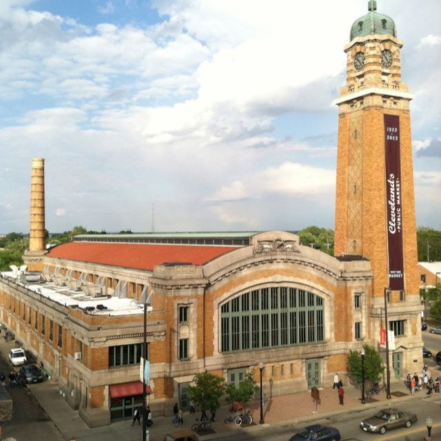 West Side Market - Cleveland's Ohio City neighborhood. I loved going here with friends from college.