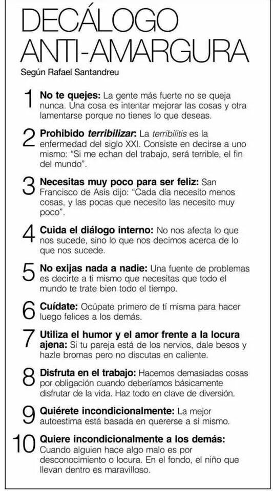 Stop a la amargura #acaboeldiaconunasonrisa