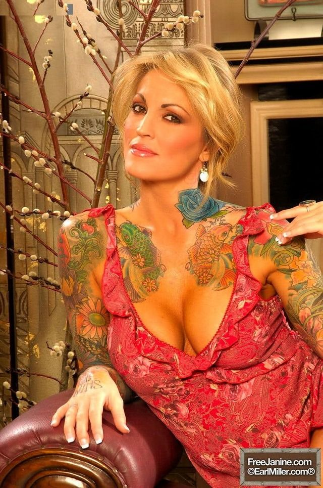 Janine Lindemulder Nude Photos 42