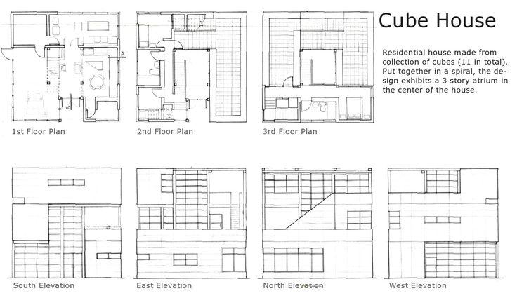 Cube House   Alexander Trubin   Archinect
