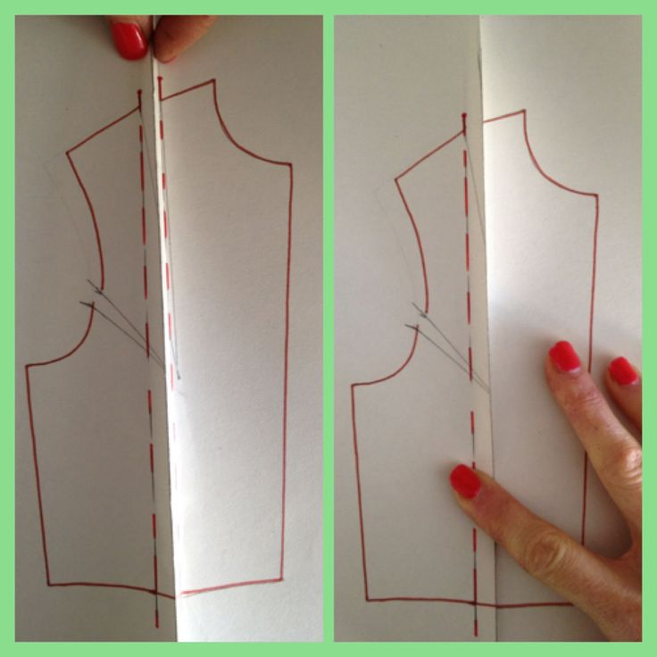 Make My Wardrobe: How to convert a woven block to a stretch block!