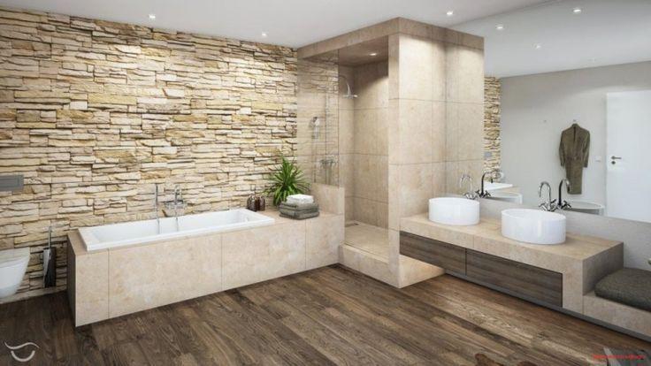 Badezimmer Ideen Fliesen Braun