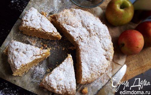 Яблочно-овсяный пирог | Кулинарные рецепты от «Едим дома!»