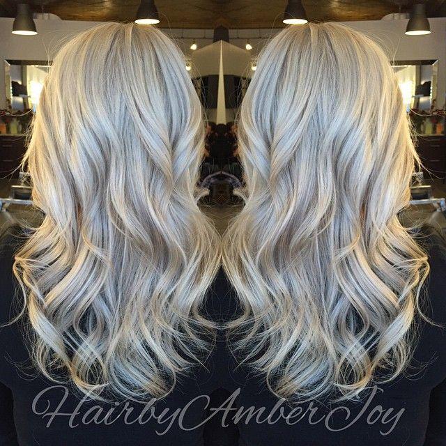Cool blonde hair