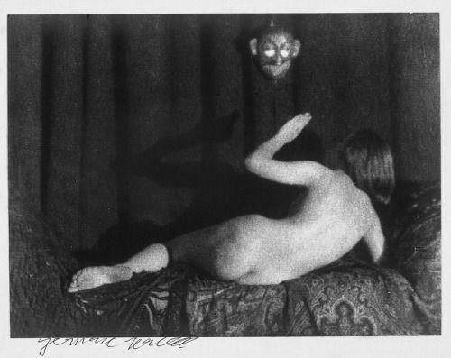 Germaine Krull,Nude Study,1923