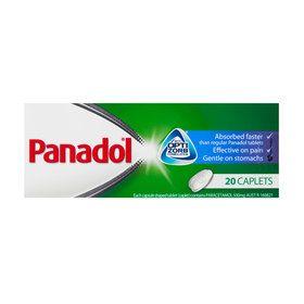 Panadol Optizorb Capsules - Pack of 20