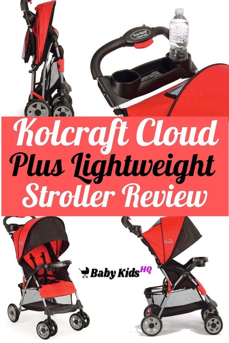 Kolcraft Cloud Plus Lightweight Stroller Review Gentle
