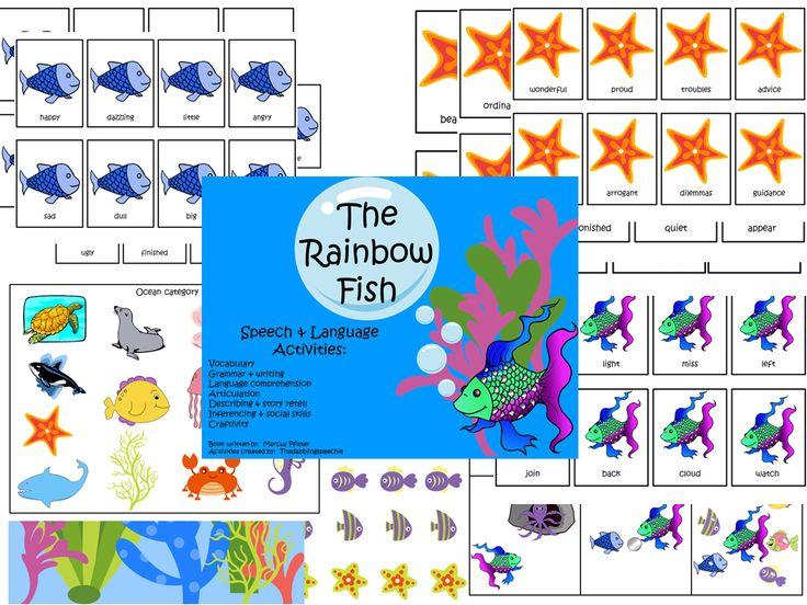 Best 25 the rainbow fish ideas on pinterest rainbow for Rainbow fish activities