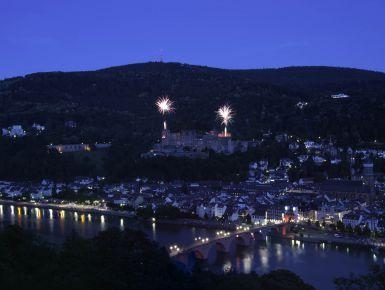 Heidelberg - Schlossbeleuchtung #giruland #diariodiviaggio #germania #europa #terme #benessere #fotografia
