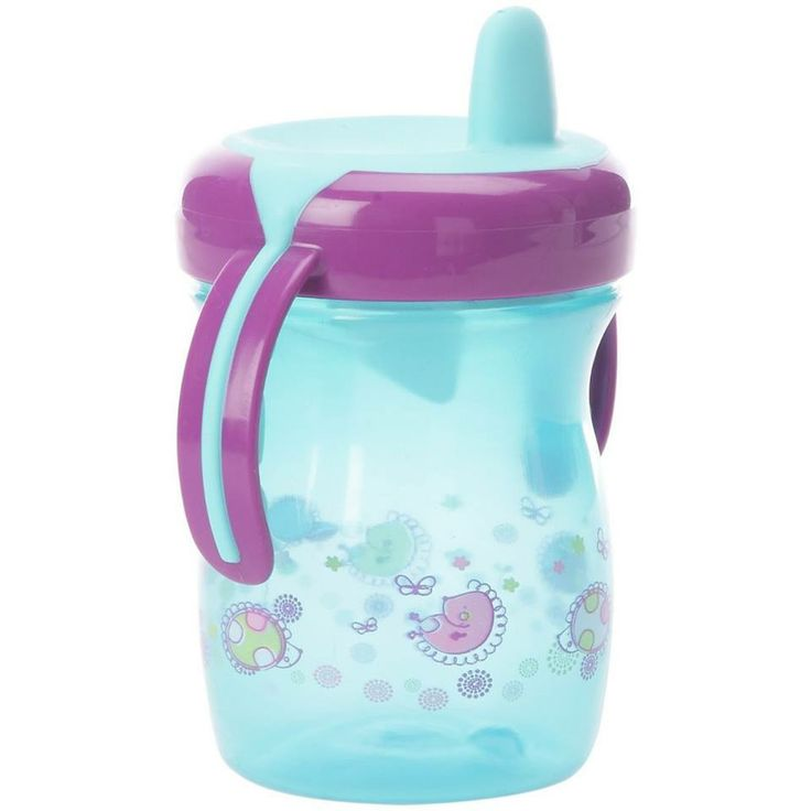 #Non_Spill_Cup   Brand:#Tigex  Short description:  The baby will #love this new, #easy to grab, 200 ml cup thanks to its large non-slip handles. With soft spout and handles. No leak at all, due to the valve which controls any spill. The drink only comes out from the cup when the baby starts suckling. #Hedeya #hedeyastores #gifts #toys  code:2637  Price:60