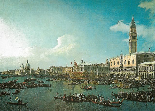 Canaletto - Venice: The Basin of San Marco on Ascension Day, 1740 at The National Gallery London England | Flickr - Photo Sharing!