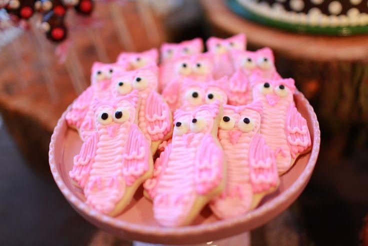 Cutie Owl Cookies