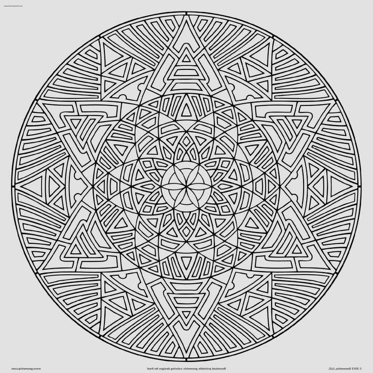 Coloring Pages Mandalas Printable Htm Project For Awesome