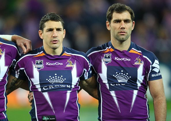Billy Slater and Cameron Smith from the Melbourne Storm http://footyboys.com
