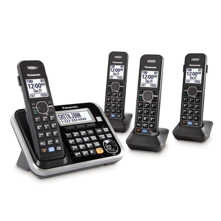 The Best Multi Handset Cordless Telephone - Hammacher Schlemmer #HammacherHolidays