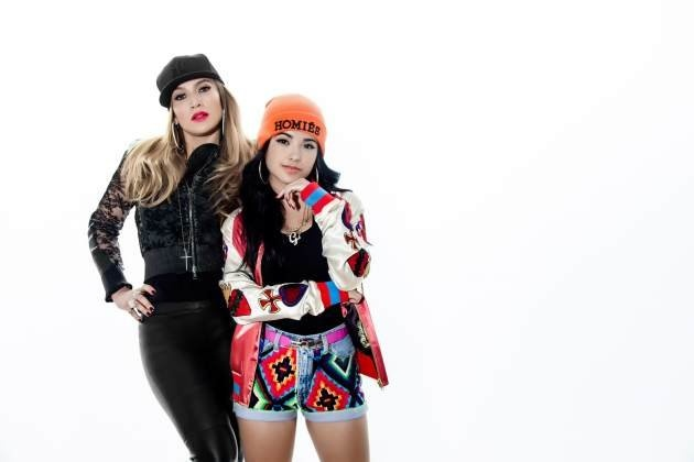 "Jennifer Lopez and Becky G saying to the fan's why she made a cameo in Becky G's ""Becky From The Block"" music video."
