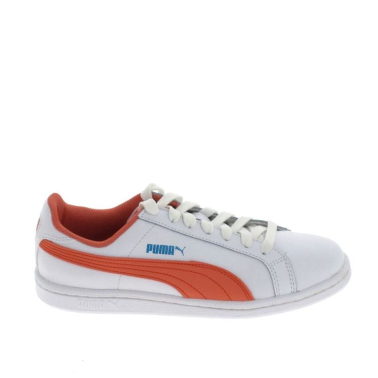 PUMA Smash Fun JR Blanc Marine - NJZF3C