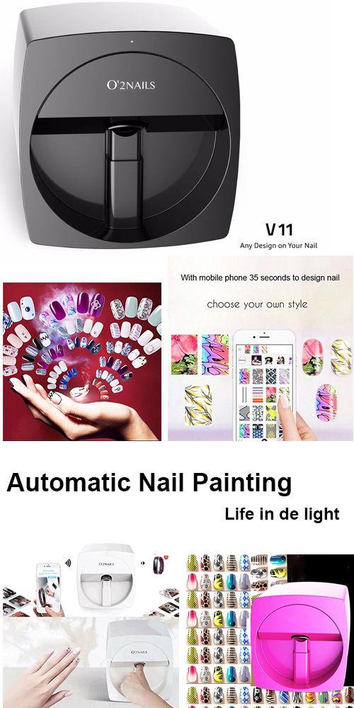 3d Nail Printers Wifi Portable Nail Printer Painting Machine