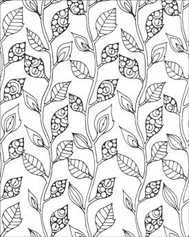 creative coloring patterns of nature artistsclubcom adult coloring pagesprintable - Design Coloring Pages For Adults