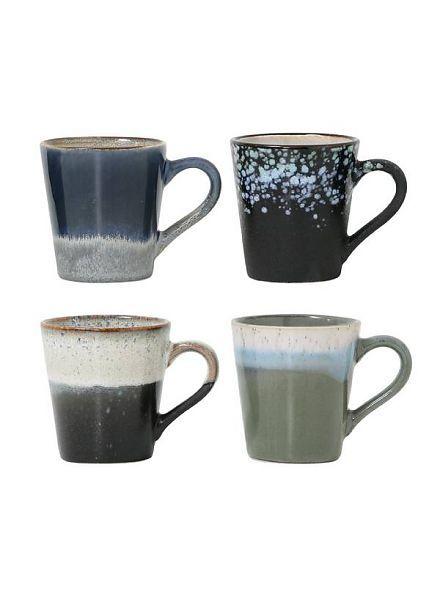 HK Living HK Living ceramic 70's espresso mugs