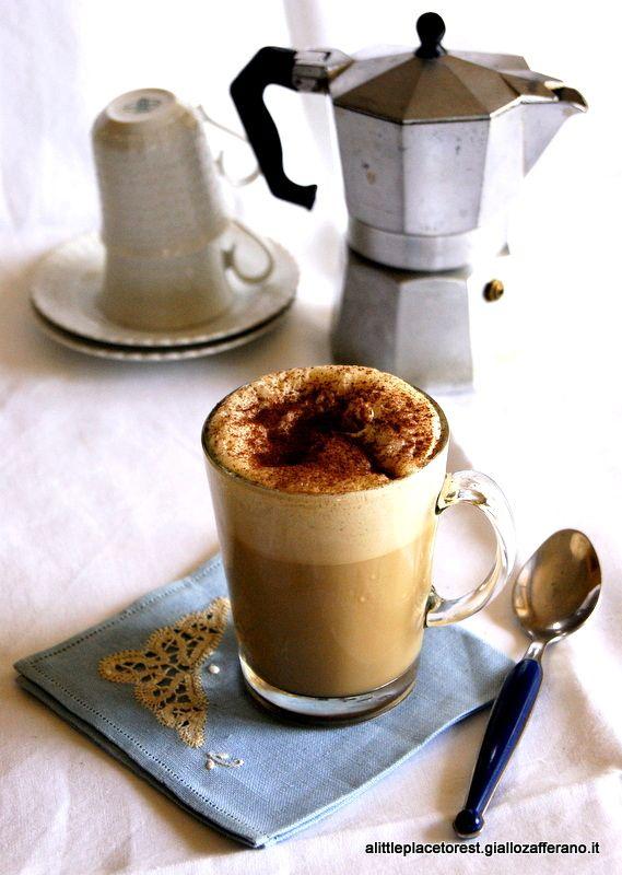 caffè freddo cremoso fatto in casa - Iced coffee