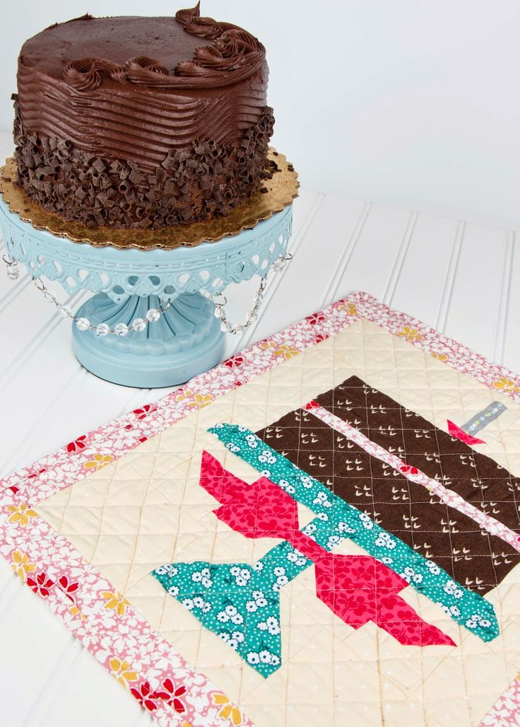 Who Wants to Make a Cake for Quilty Fun's 1st Birthday? - Fat Quarter Shop's Jolly Jabber