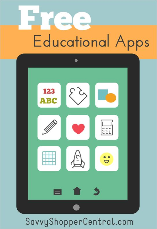While they are playing with a device, I don't want them going into that mindless state you hit with some games, so we installed a ton of educational apps.  Being the frugal momma I am, I couldn't imagine paying for them when there are so many free ones available!  Here are 25 of the best FREE educational apps for kids we found!