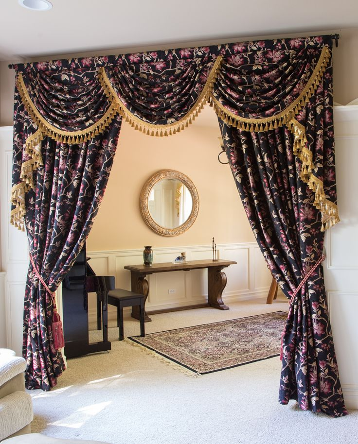 valance and window scarf sheer image swag curtain black curtains valances solid