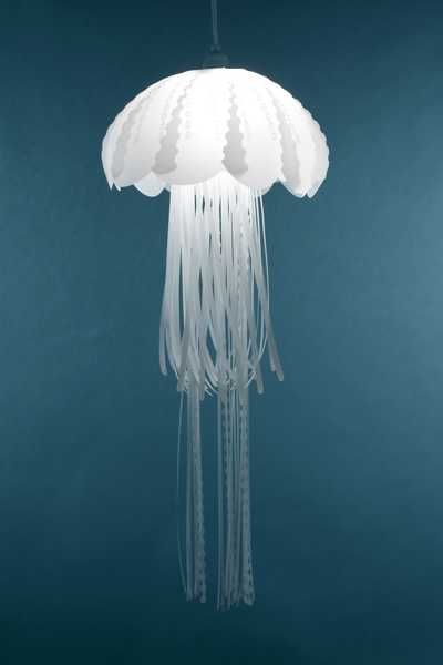Unique Lighting Fixtures Inspired by JellyFish from Roxy Russell Design, these lights have an ethereal almost ghostlike look to them - stunning, I want one for my new house!