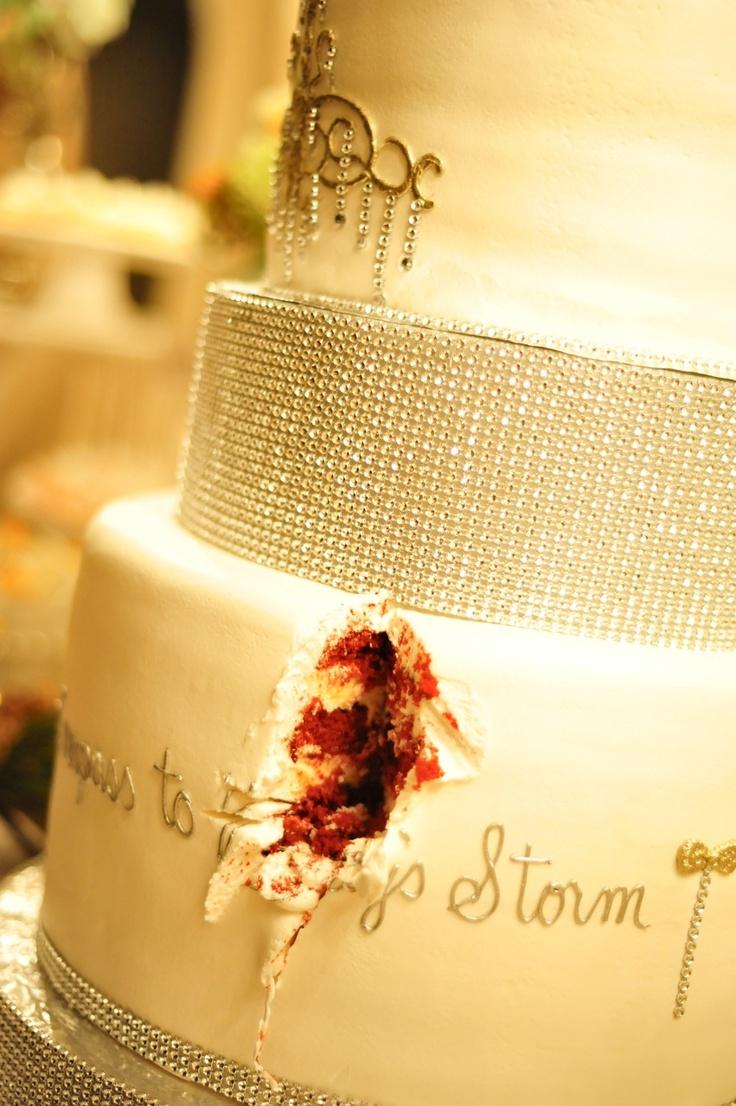 cake: Red Velvet Cheesecake