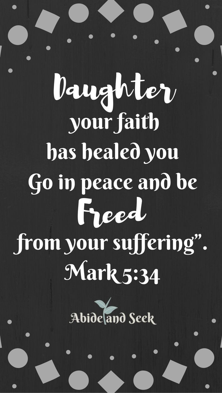 There are days when you need to take that extra step in God's direction, especially when it comes to healing. I have found that these 7 verses have contributed to healing in my life at the moment when I needed it the most.