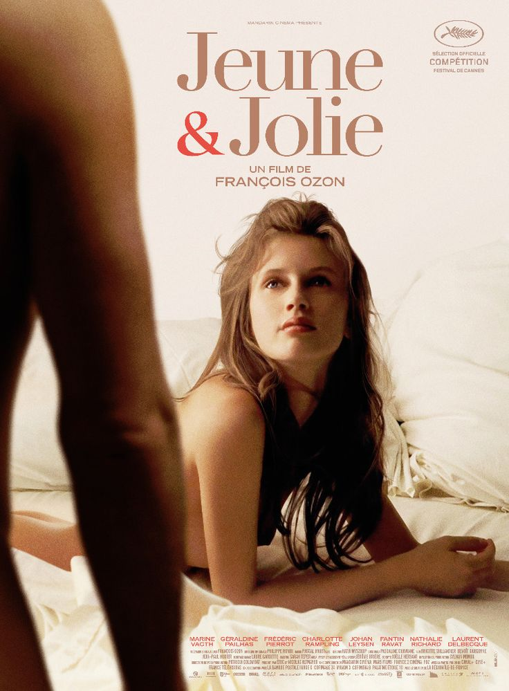 Jeune & Jolie est un film de François Ozon avec Marine Vacth, Géraldine Pailhas. Synopsis : Le portrait d'une jeune fille de 17 ans en 4 saisons et 4 chansons.
