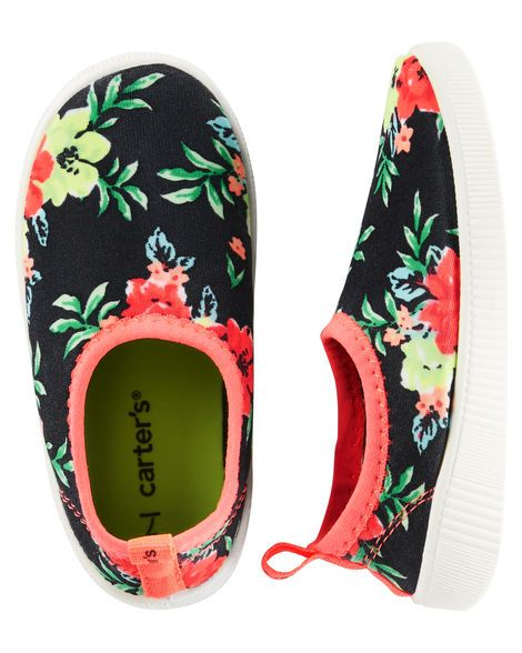 Baby Girl Carter's Floral Water Shoes from OshKosh B'gosh. Shop clothing & accessories from a trusted name in kids, toddlers, and baby clothes.