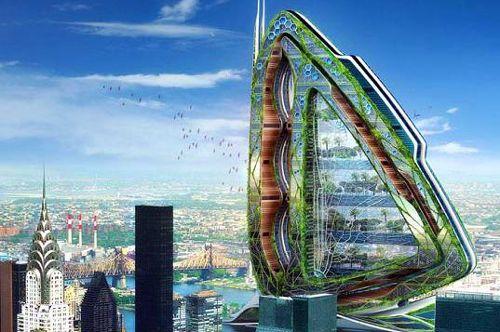Zelené mrakodrapy